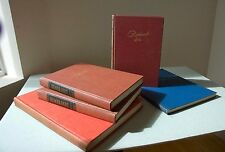 REMBRANDT BOOK GROUP: 2 vol. PORTRAIT STUDY, 2 PLATE BOOKS OF DRAWINGS & BIO