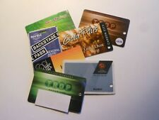 7 Casino Slot Cards Gold Dust West Fandango Montbleu Lakeside Inn Hard Rock +
