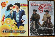 2 Donny And Marie Dvds. Best of Donny and Marie & 1978 Christmas Show
