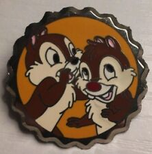 Rare Wdw Chip and Dale Character Bottle Soda Pop Cap Mystery Le 1000 Disney Pin