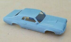 RESIN 3D PRINTED 1/32 1969 MERCURY COUGAR XR-7 BODY. SLOT CAR
