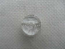 Pack of 20 Clear Self Patterned Size 28 Buttons (18mm) for Sewing UK