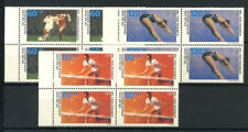 Germany 1988 Mi. 1353-1355 MNH 100% Block of four, Olympic Games, Seoul, Sports