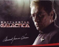 EDWARD JAMES OLMOS Signed Autographed BATTLESTAR GALACTICA WILLIAM ADAMA Photo