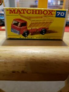 matchbox lesney 70 Grit Spreader Truck Original F Type Box Only
