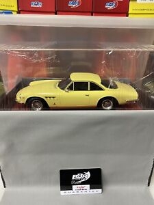 1/18 BBR Ferrari 500 SF Series II L. Yellow on Red Deluxe Leather #2/5 n MR RARE