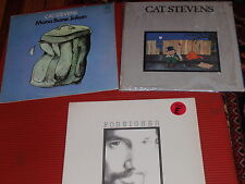THREE VINTAGE CAT STEVENS ALBUMS FOREIGNER/TEASER/MONA BONE ALL IN EXC. COND