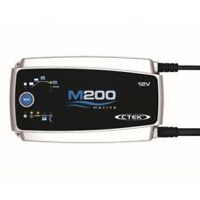 CTM200/12  BAINTECH CTEK M200 12V 15A with 4M Cables, Lugs & Night Mode