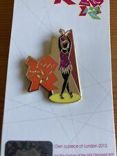 London 2012 Olympic Dancing Girl Pin Badge From British Theatre Set