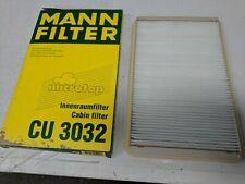 MANN CABIN / POLLEN AIR FILTER CU 3032 RENAULT MEGANE