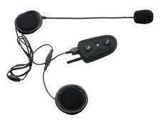 100M Biker to Biker Bluetooth Helmet Intercom Headset Interphone With FM Radio
