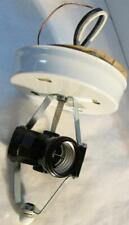 3-Socket Ceiling Fixture for Center Hole Light Shade with Canopy & Finial Screw