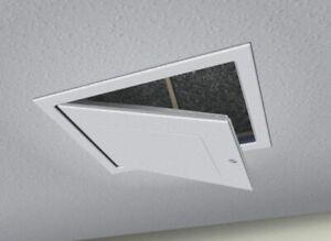 Drop Down Loft Access Hatch with Twist Action Catch