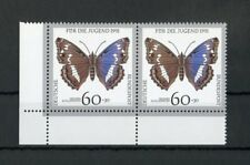 BUND Nr.1514f22 ** ECKRANDPAAR SCHANTL-PLATTENFEHLER EURO 30,-++ (122117)