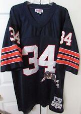 NFL Chicago Bears 75-86 Walter Payton #34 Mitchell Ness Throwback Jersey Sz 58