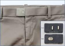 Grey Hook & Bar Waist Extender Closure Pants Shorts Trouser Line Widen Expander