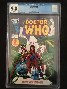 Doctor Who #1 (Marvel) CGC 9.8  1984