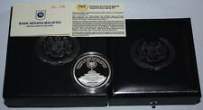 (PL) NEW SALES: 2012 MALAYSIA AGONG XIV Silver Proof Coin - COA Number 246
