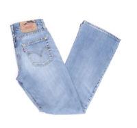 Levi's Levis Jeans 529 W28 L32 blau stonewashed 28/32 Bootcut -B2978