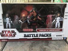 Star Wars - Battle Packs - Ambush At Abregado - Boost + Sinker + 104th Wolfpack