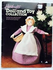 Vintage Country Handcrafts Doll and Toy Collection Stuffed Animal Pattern Book