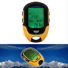 Waterproof Digital Multifunction LCD Altimeter Barometer Compass Thermometer