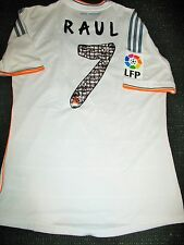 Authentic Raul Real Madrid Match Issue Jersey Farewell Match Camiseta Espana