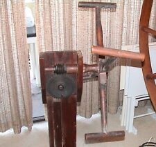 Wooden yarn winder for spinning wheel Without Base