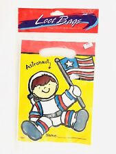 Astronaut o8 bags of Goody Loot Treat  Party Birthday Party Bags Sacks