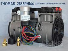 New Thomas 220v 2685phi44 34hp Lake Fish Pond Pump Aeration Compressor 2685pe40