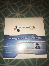 MusicMatch Jukebox Digital MP3 Music PC Software CD Key V7 New