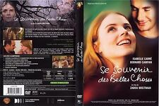 """DVD """"SE SOUVENIR DES BELLES CHOSES"""" DE ZABOU BREITMAN AVEC ISABELLE CARRÉ"""