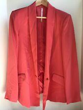 TRUTH AND PRIDE Women's M Silk Pink Blazer Jacket