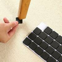 Non Slip Self Adhesive Floor Protectors Furniture Protective Feet Pads Black