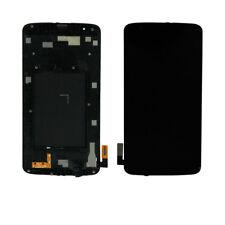 For LG Treasure LTE TracFone L52VL L51AL LCD Screen Digitizer Touch+Frame Black