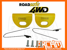 ROADSAFE PAIR OF HEAVY DUTY TOW POINTS TO SUIT D40 NISSAN NAVARA
