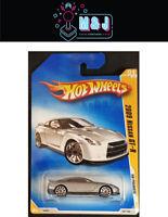 Hot Wheels Silver 2009 Nissan GT-R No 001/166 *Rare* - Sealed (Aussie Seller)