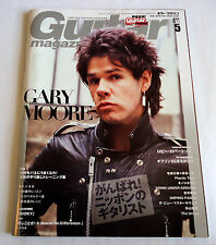 GARY MOORE Guitar Magazine Japan 05/2011 Gibson SG Robbie Robertson