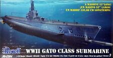Revell 1/72 USS Gato Class US Submarine WWII Kit #85-0384 Sealed Inside