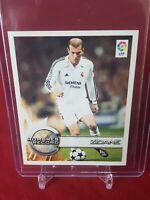 Zinedine Zidane Real Madrid Superliga 2002/03 Panini Sticker