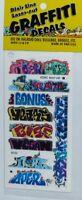 Blair Line 1262 Mega Set 13 Graffiti Decals Spur N 1:160 Laser cut Decal