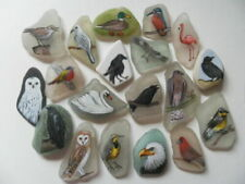 Acrylic Birds Signed Art Paintings