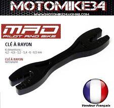 Speichenschlüssel moto/custom/Cross MX Fahrrad 6 Größen 4,2-4,9-5,2-5,6-6,5mm