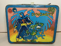 Vintage 1976 King-Seeley Thermos Brand Dynomutt Metal Lunch Box - Made In USA