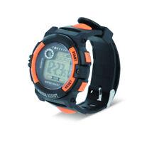 Armbanduhr Sportuhr Digitale Uhr Wasserdicht 3 ATM Alarm Stoppuhr Kalender LED