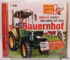 Albert E. erklärt Kindern das Leben auf dem Bauernhof + CD + Spannendes Hörbuch