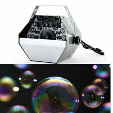 Gran burbuja Soplador máquina portátil de soplado Maker Dj Disco Club fiesta Navidad Divertida