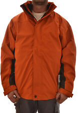 REGATTA MENS VISUAL 3 in 1 JACKET COAT INNER FLEECE ORANGE XLARGE MA101 D2