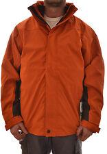 Regatta hommes Visuel 3 En 1 Veste imperméable orange XL MA101 D2