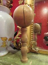 ancien jeu de bilboquet en bois tourné epoque 1900  28,5 cm jouet